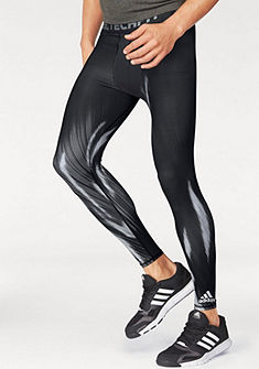 adidas Performance Sportovní legíny »TECHFIT BASE GRAPHIC LONG TIGHTS«