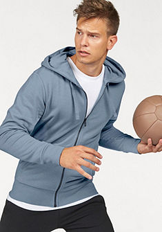 adidas Performance Mikina s kapucí »ESSENTIALS LINEAR FULLZIP HOOD FRENCH TERRY«