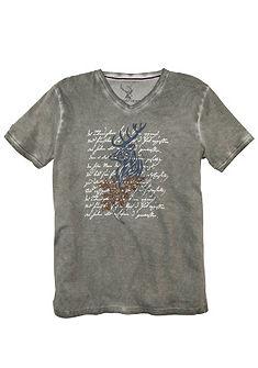 Spieth & Wensky Pánské krojové triko s módním potiskem