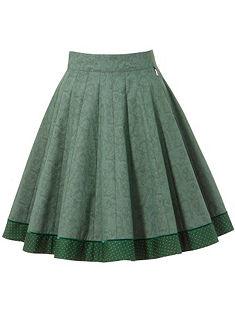 Hammerschmidt Krojová sukně s kašmírovým potiskem
