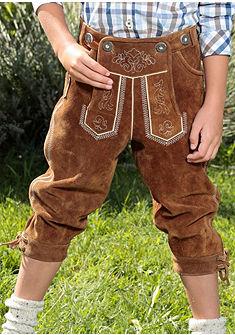 Detské kožené nohavice vštýle po kolená, Marjo