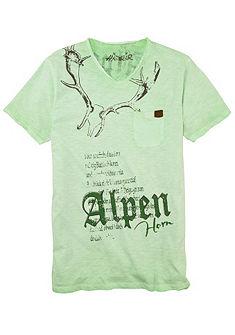 Marjo Pánské krojové triko s náprsní krojovou kapsičkou