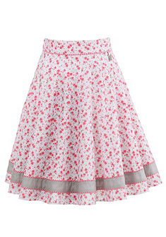 Hammerschmidt Krojová sukně s potiskem růží