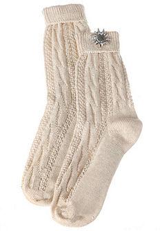 Dámské ponožky s aplikací protěže