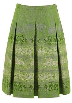 Allwerk Krojová sukně ve třpytivém vzhledu