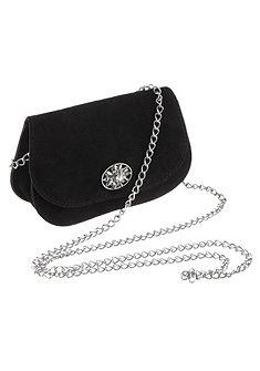KABE Kožený doplnok, krojová taška s aplikáciou plesnivca