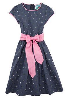 Turi Landhaus Krojové šaty dětské s květinovým potiskem