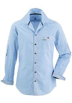 Spieth & Wensky Krojová košeľa v kockovanom dizajne
