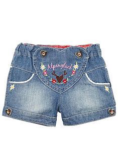 BONDI Krojové detské nohavice vo vyšúchanom vzhľade