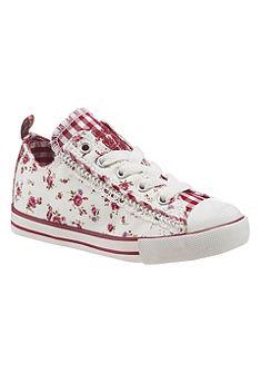 Krüger Kids Dětská obuv s květinovým motívem