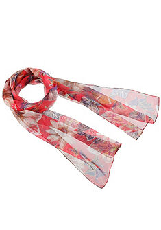 Krojový šál smoderným kvetinovým dizajnom