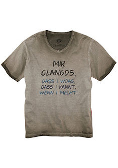 Mondkini Krojové pánské tričko s cool potiskem