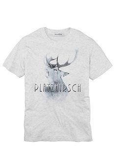 Mondkini Krojové pánské tričko s potiskem jelena