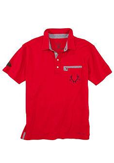 Spieth & Wensky Krojové pánské tričko s výšivkou paroží