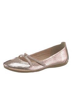 Tamaris pántos balerinacipő, csillogó