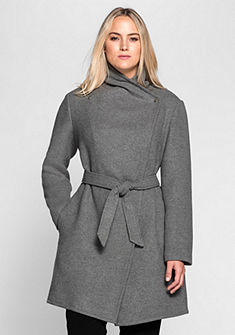 sheego Style asszimetrikus vágású rövid kabát