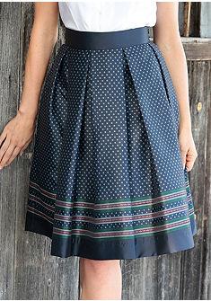 Turi Landhaus Krojová sukně v lesklém vzhledu