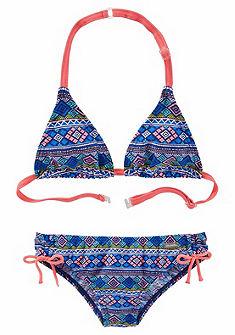 Bench lányka etnomintás háromszög bikini