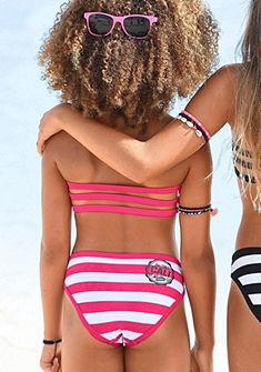 Bench bandeau bikini divatos csíkokkal