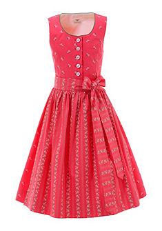 Hohenstaufen Dívčí krojové šaty v kombinaci svěžích barev