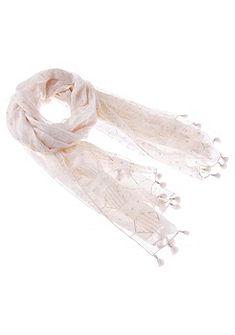 Krojový šátek s jemnými třpytivými nitkami