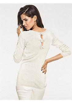 ASHLEY BROOKE by heine Pletený pulovr s hedvábím