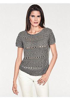 ASHLEY BROOKE by heine azurového pulovr