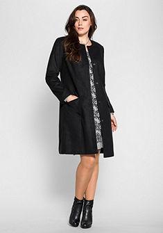 sheego Style Krátký kabát s třpytivé kamínky