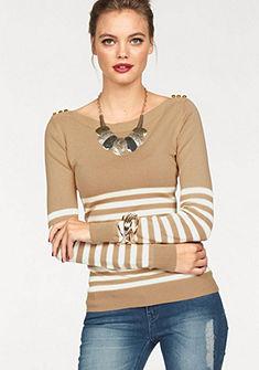Melrose Pruhovaný pulóver