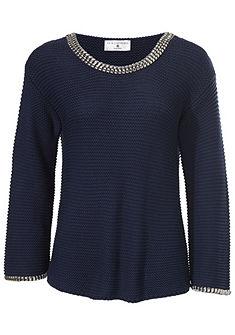 RICK CARDONA by heine oversize pulóver szegeccsekkel
