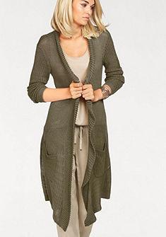 Laura Scott Dlouhý pletený svetr »s šálovým límcem«