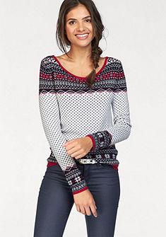AJC Pletený pulóver, nórsky vzor