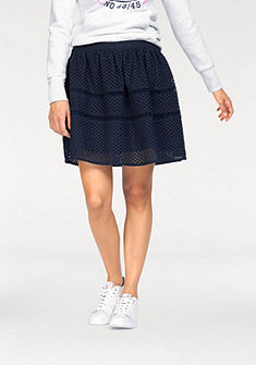 Superdry fodros szoknya »GEO LACE MIX SKATER SKIRT«