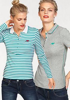 KangaROOS Polo tričko s dlhým rukávom (2ks, s tričkom)