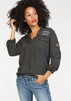 Superdry Halenkové šaty »MILITARY SHIRT«