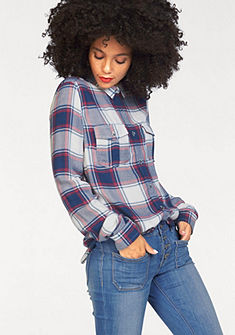 Superdry ingblúz »NASHVILLE BF CHECK SHIRT«