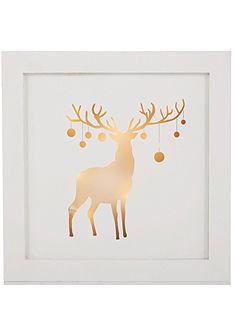 LED obraz s motivem jelena