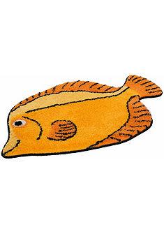 Kúpeľňová predložka, my home, »ryba«, výška 15 mm, protišmyková úprava