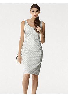 PATRIZIA DINI by heine Vzorkované šaty s grafickým vzorom