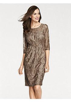 ASHLEY BROOKE by heine Čipkované šaty s ozdobnými prvkami