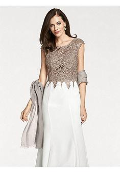 ASHLEY BROOKE by heine Večerní šaty s krajkou a filtry