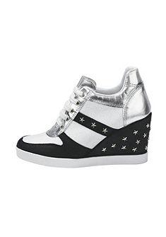 Heine telitalpú fűzős cipő