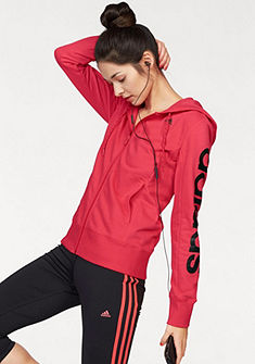 adidas Performance ESSENTIALS LINEAR HOODY mikina s kapucí