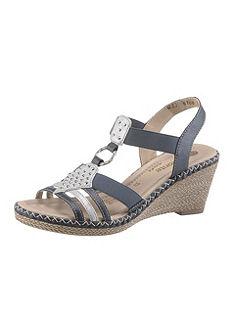 Remonte Sandále s plným podpätkom