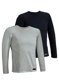 Tričko s dlouhým rukávem 2ks