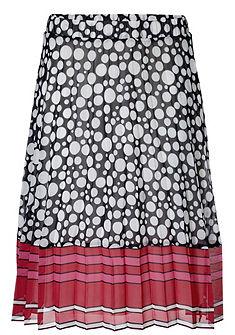 PATRIZIA DINI by heine Plisovaná vzorovaná sukně
