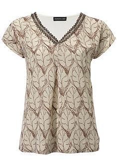 PATRIZIA DINI by heine Vyšívané tričko s flitrami