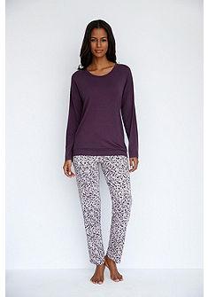 Schiesser Pyžamové tričko s dlouhými raglánovými rukávy