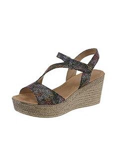 Arizona Pásková obuv na klínu