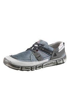 KACPER fűzős bőr cipő kivehető talpbéléssel